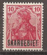 Saargebiet 1920 - Michel 33 Ungebr. - Abstimmungsgebiete