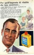 # AQUA VELVA WILLIAMS AFTER SHAVING JBCompany 1950s Advert Pubblicità Publicitè Reklame Parfum Profumo Cosmetics - Unclassified