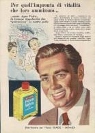 # AQUA VELVA WILLIAMS AFTER SHAVING JBCompany 1950s Advert Pubblicità Publicitè Reklame Parfum Profumo Cosmetics - Parfums & Beauté