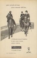 # LAVANDA COLDINAVA NIGGI IMPERIA 1950s Advert Pubblicità Publicitè Reklame Perfume Parfum Profumo Horse - Non Classificati