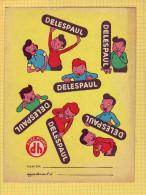 PROTEGE CAHIER  : Chocolat DELESPAUL .jouet  Voitures - Protège-cahiers