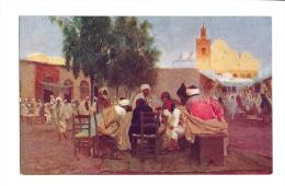 Cp, Commerce, Café Arabe Et Mosquée - Cafés