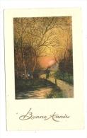 Cp, Nouvel An, Bonne Année, écrite 1935 - New Year