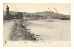 Cp, 03, Vichy, Les Bords De L'Allier Et La Côte St-Amand, Voyagée 1923 - Vichy