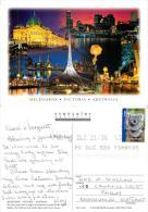 Melbourne, Victoria, Australia Postcard Posted 2005 Stamp - Melbourne
