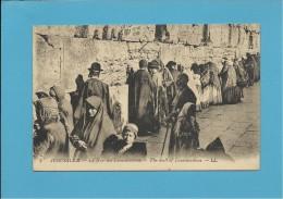 JERUSALÉM - Le Mur Des Lamentations - The Wall Of Lamentations - ISRAEL - 2 SCANS - Israel