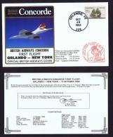 BA  First Flight    Orlando   - New York   Oct 17, 1983  (Delayed) - Concorde