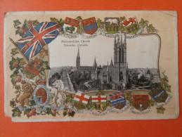 31830 PC: CANADA: ONTARIO: Metropolitan Church, Toronto. (Postmark 1912). - Toronto