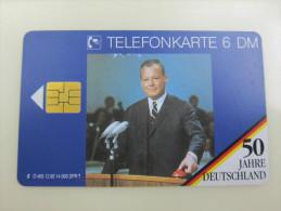 O405 12.92  50 Jahre Deutschland,used - Deutschland
