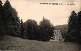 CHATEAU DE CLERES .. VUE DU PARC - France