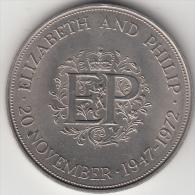 GRAN BRETAGNA 1972 - 25 NEW PENCE - 1971-… : Monete Decimali