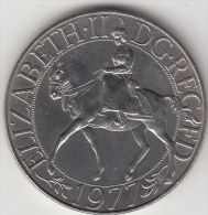 GRAN BRETAGNA 1977 - 25 NEW PENCE - 1971-… : Monete Decimali