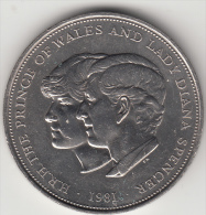 GRAN BRETAGNA 1981 - 25 NEW PENCE - 1971-… : Monete Decimali