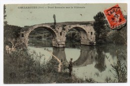 GALLARGUES (30) - PONT ROMAIN SUR LE VIDOURLE - Gallargues-le-Montueux