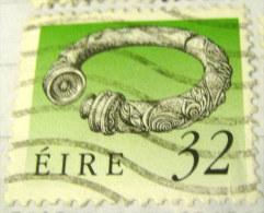 Ireland 1990 Irish Art Treasures 32p - Used - 1949-... Repubblica D'Irlanda