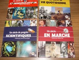 LOT DE 4 LIVRES ** SCIENTIFIQUES / SIECLE MARCHE / VIE QUOTIDIENNE / COMMUNICATIONS - France