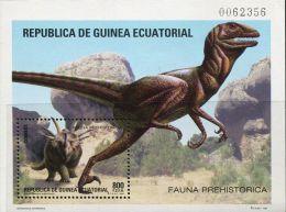 DB0550 Equatorial Guinea 1994 Dinosaur M MNH - Equatorial Guinea