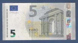 EURO - 2013 - BANCONOTA DA 5 EURO FIRMA DRAGHI  SERIE SC (S006C4) - NON CIRCOLATA (FDS-UNC) - OTTIME CONDIZIONI. - 5 Euro