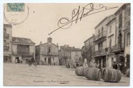 GALLARGUES (30) - LA PLACE DU COUDOUYER - Gallargues-le-Montueux