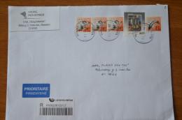 Lithuania Cover Sent From Venta - Lituania