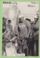 Mario MORI Et Gianni FERLENGHI, Molteni Et Carpano. 2 Scans. Photo - Cyclisme
