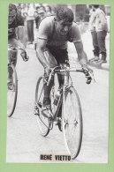 René VIETTO. 2 Scans. Photo  Presse Sports - Cyclisme