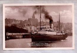 CPSM - Boulogne-sur-Mer (62) - Arrivée Du Bateau De Folkstone - LL - Boulogne Sur Mer