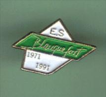 33089-Pin's.Football De L'ES Blanquefort - Football