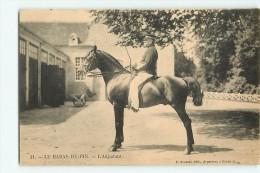 Le HARAS Du PIN - L' ADJUDANT - Cheval De Course -  TBE - Edition Roussel , Argentan - 2 Scans - France