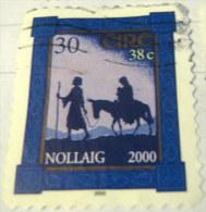 Ireland 2000 Christmas 30p - Used - Usati