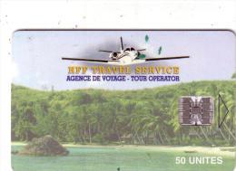 MADAGASCAR PRIVEE HFF TRAVEL SERVICE AVION PLANE 50U UT 10000 EX - Madagaskar