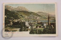 Postcard Switzerland - Sankt Moritz Bad Hotel Victoria  - Circulated - Edited Gebr. Wehrli, Kilchberg - L Glaser Leipzig - GR Grisons
