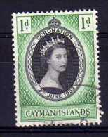 Cayman Islands - 1953 - QEII Coronation - Used - Iles Caïmans