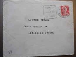 Gigondas Vaucluse : Daguin Gigondas Grand Vin De France 3 - Marcophilie (Lettres)