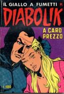 DIABOLIK N°239 CARO PREZZO - Diabolik