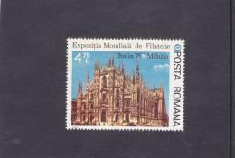 ROUMANIE 1976 CATHEDRALE DE MILAN ITALIA 76 Yvert 2991 NEUF** MNH Cote : 2 Euros - 1948-.... Republics