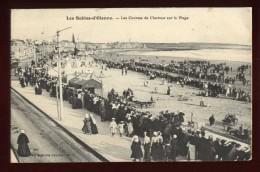 Cpa  Du 85  Les Sables D´ Olonne Les Courses De Chevaux Sur La Plage  EE12 - Sables D'Olonne