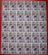 Année 1979 - COB 1935** - Millénaire De Bruxelles - Tapisserie  20F + 10F  - Cote 57,00 € - Fogli Completi