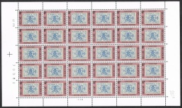Année 1979 - COB 1929** - Journée Du Timbre - 8F (pl 3) - Cote 16,50 € - Fogli Completi