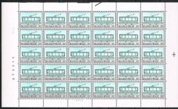 Année 1983 - COB 2081** - Histoire Du Tram Et Du Troley -  50F (pl 1) - Cote 114,00 € - Fogli Completi