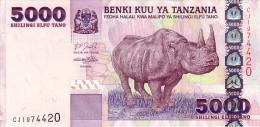 TANZANIE   5 000 Shilingi   Emission De 2003    Pick 38    *****  BILLET  NEUF  ***** - Tanzanie