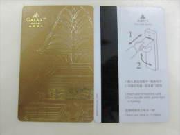 Macau Galaxy Hotel - Cartes D'hotel