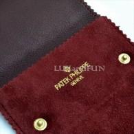 Patek Philippe Leather Pouch Watch Jewellery - Custodia Orologio Gioielleria - Never Used - Altri