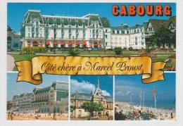 CABOURG - LES JARDINS DU CASINO ET LE GRAND HOTEL - Ed. LE GOUBEY - Cabourg