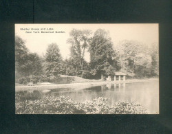 USA - New York Botanical Garden - Bronx Park - Shelter House And Lake ( The Alberttype Co) - Bronx