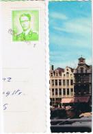 14-025 Briefstück Mit Belgien Mi-Nr. 1128 Gestempelt Mit 6300 Zug 1 Bahnpost ? - Belgien