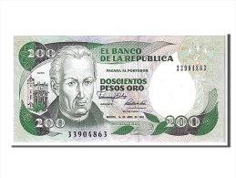 [#107637] Colombie, 200 Pesos Oro Type Mutis - Colombie