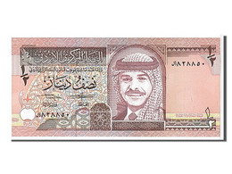 Jordanie, 1/2 Dinar Type Hussein Ier - Jordan