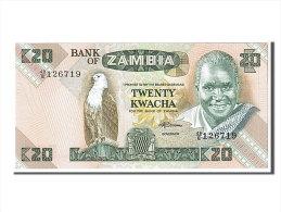 [#107616] Zambie, 20 Kwacha Type K. Kaunda - Zambie