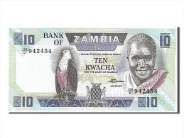 Zambie, 10 Kwacha Type K. Kaunda - Zambie